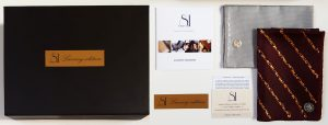 Primeri maramica za sako iz Luksuzne serije sa crnim luksuznim pakovanjem